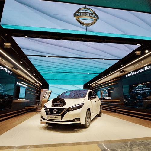 VITACLIM a équipé le premier Nissan City Hub, un concept 100 % digital